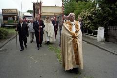 Nederland, Nunhem, 13 mei 2007. Begin van de jaarlijkse processie van Sint Servatius in het Limburgse Nunhem. Foto Roel Visser/ Hollandse Hoogte.